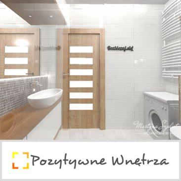 Pozytywne Wnętrza wybrały nasz wieszak Rozbieraj się! do projektu swojej łazienki