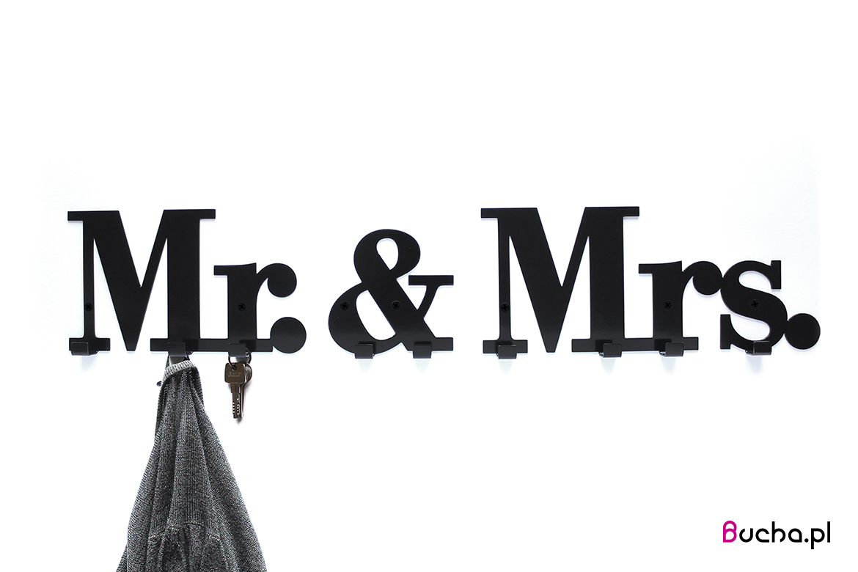 wieszak_Mr&Mrs_bucha